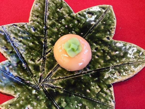 柿 煉切製こし餡