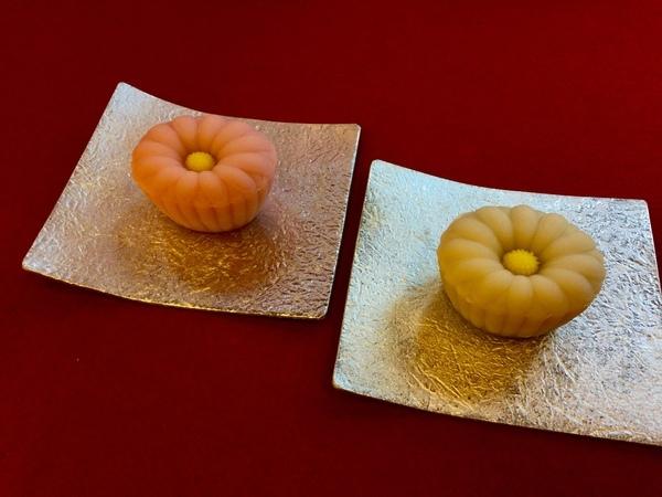 菊 煉切製こし餡