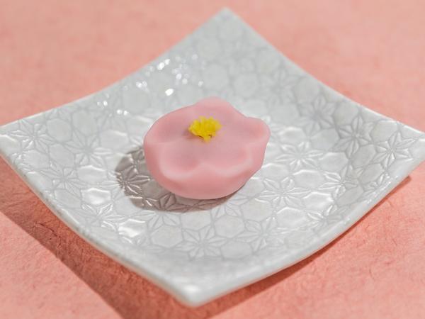 桃の花 煉切製