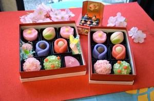 おひなさま和菓子 8個入