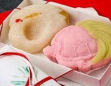 敬老の日 お祝い菓子「鶴と亀」