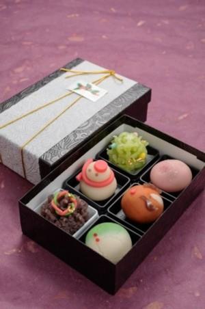 クリスマス和菓子6個入り ※お受け取りは12月1日より